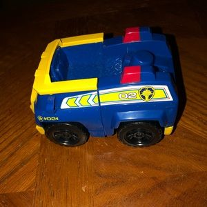 Chase from paw patrol car no figure